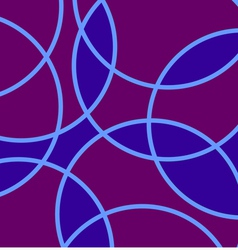 symmetrical pattern - Stained Glass vector image