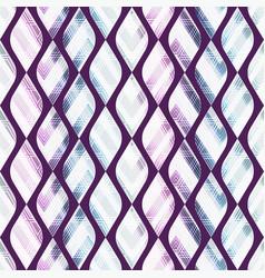 vintage mosaic seamless pattern vector image