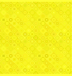 yellow geometric diagonal curved shape mosaic vector image