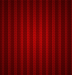 Red Wool Texture vector image