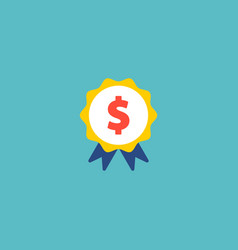 award icon flat element of vector image