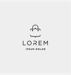 Bag code logo design shop technology vector