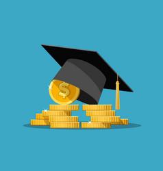 education grant concept vector image