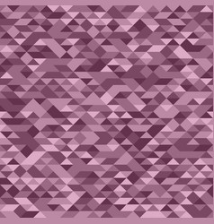 Elegant pattern of colorful pastel pink triangles vector