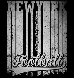 New york typography t-shirt graphics vector