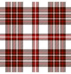 Seamless tartan pattern in dark brown red pink and vector image