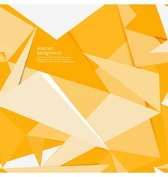 yellow paper background vector image