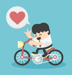 business happy show love vector image