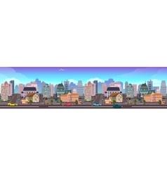 Panama City Skyscraper View Cityscape vector image