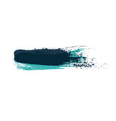 grunge brush strokes colorful brush vector image