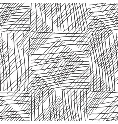 abstract background withc handmade lines black vector image