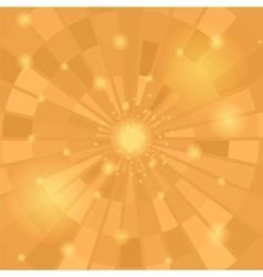 Abstract Orange Mosaic Pattern vector