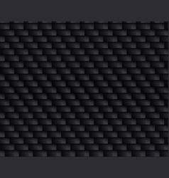Black carbon fiber texture vector