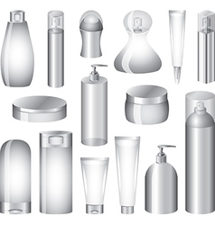 cosmetic pack set vector image