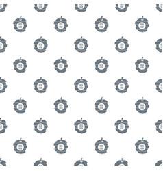 fresh food pattern seamless vector image