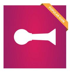 Horn klaxon icon vector