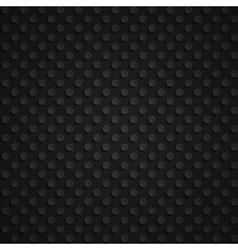 Seamless black 3d pattern vector