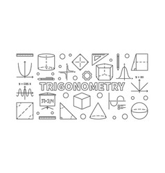 Trigonometry horizontal vector