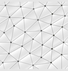 white web triangle seamless pattern vector image
