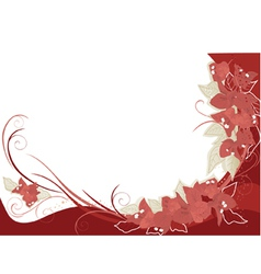 red bougenvilia background vector image vector image