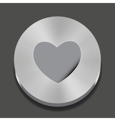 heart apps icon vector image vector image