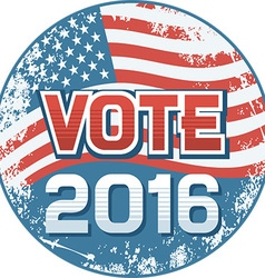 US Election Banner vector image vector image