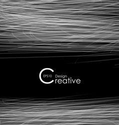 Creative Abstract Background with Lines vector image