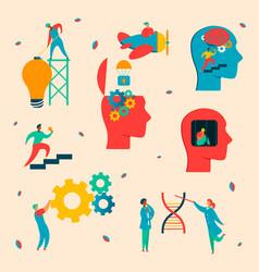 neurology character set vector image