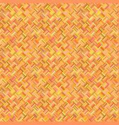 orange abstract seamless diagonal rectangle vector image