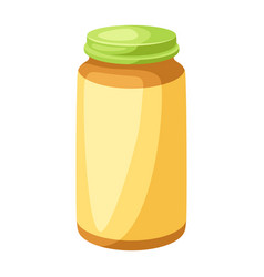 stylized jar bapuree vector image