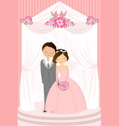 Wedding celebration vector