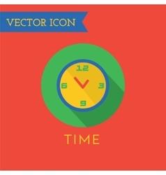 Clock Icon Icon Sound tools or Dj and vector image vector image