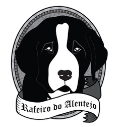 Rafeiro do Alentejo Portrait Isolated dog vector image