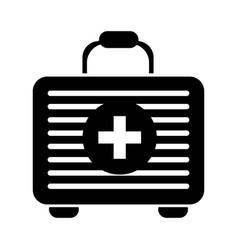contour first aid kit medications tools vector image