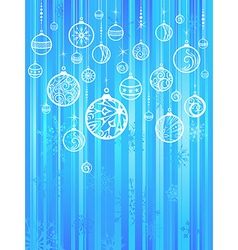Bright Christmas background vector