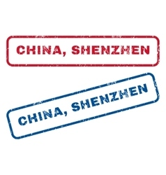 China Shenzhen Rubber Stamps vector