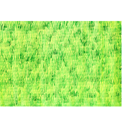 Green grass filed watercolor background vector