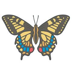 Old world swallowtail vector