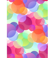 seamless festive pattern with multicolored vector image