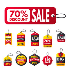 Super sale extra bonus red banners text label vector