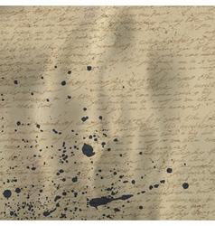 vintage letter background vector image vector image