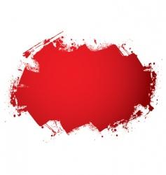 blood roller vector image vector image