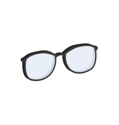 glasses eyeglasses symbol flat isometric icon or vector image