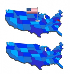 geography vector image vector image