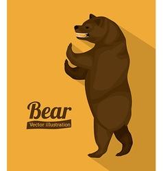 Bear design vector