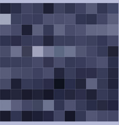blue mosaic of different shades vector image