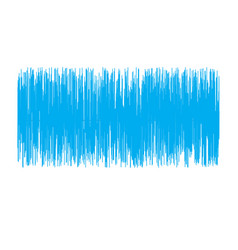 blue sound wave on white background sound wave vector image