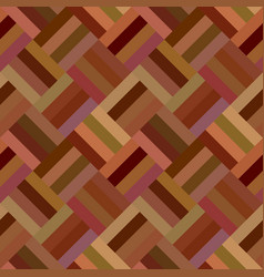 brown repeating diagonal mosaic tile pattern vector image