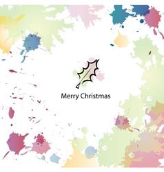 Christmas cartoon background vector image