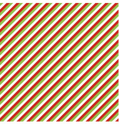 Christmas seamless pattern diagonal lines vector
